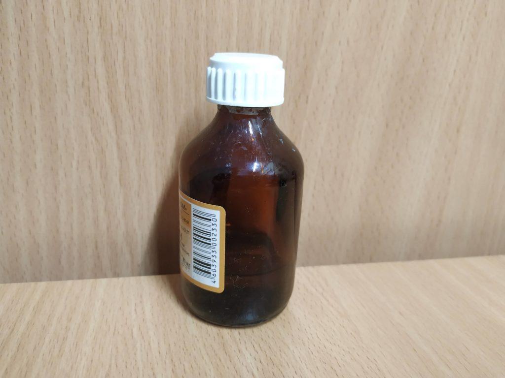 Раствор нашатырного спирта с водой